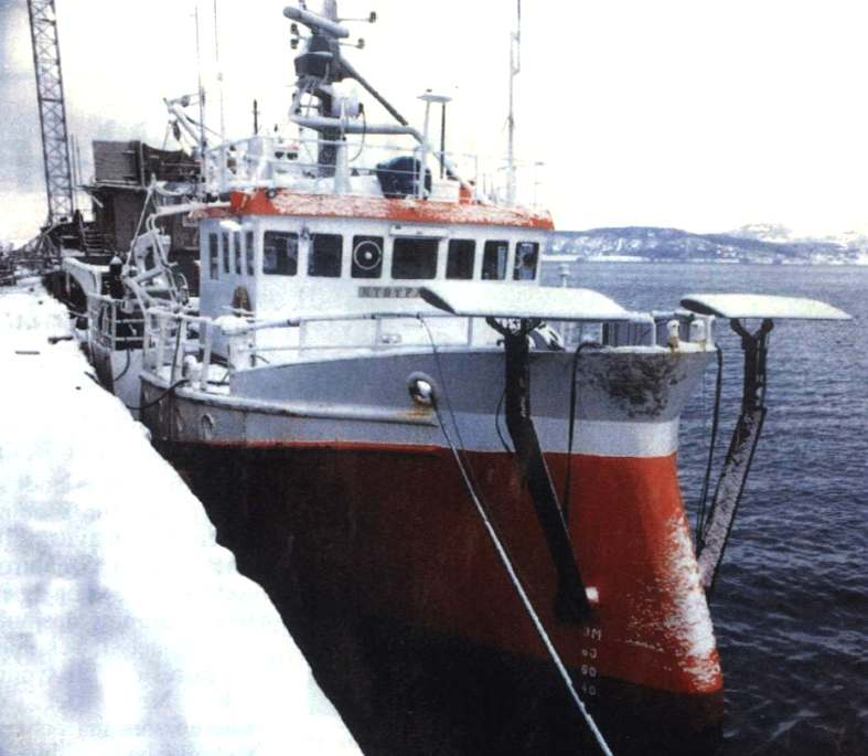 Kystfangst, Norwegian fishery vessel