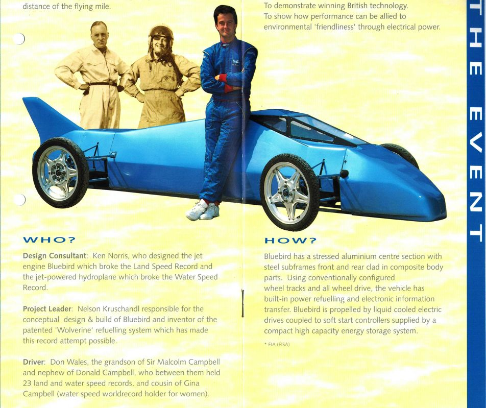 ELECTRIC ROVER METRO CAR CONVERSION PATENT BLUEBIRD INSTANT