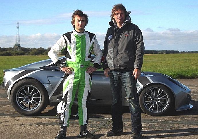 Nick Ponting and Dale Vince, the Ecotricity Nemesis, electric Lotus