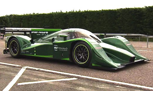 Lord Drayson electric land speed record