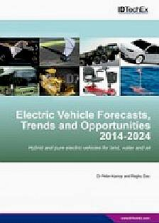 Electric vehicle forecasts trends and opportunities 2014-2024