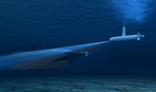 Raytheon Marine Military Anti Submarine Sonar Detection