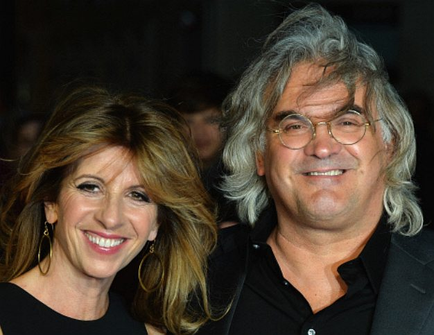 Director Paul Greengrass and his wife Joanna