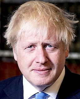 Boris Johnson, Prime Minister, United Kingdom