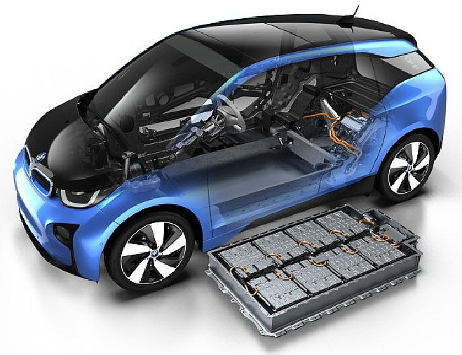 Bmw I3 Electric Economy Zero Carbon Car Event Support Vehicle