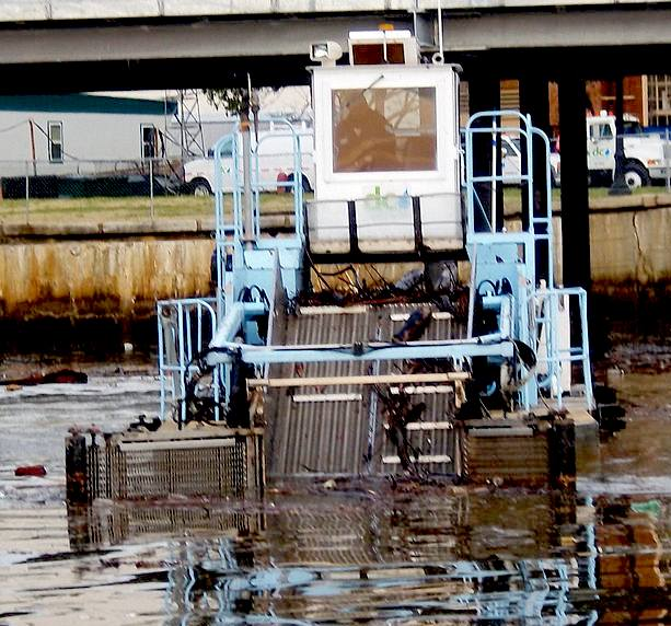 River Cleaning Workboats Trash Skimmers Waste Dustcarts