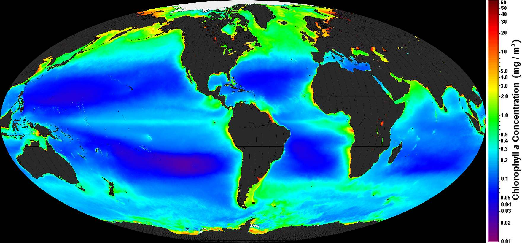 SATELLITE BASED OCEAN PLASTIC IDENTIFICATION SYSTEM