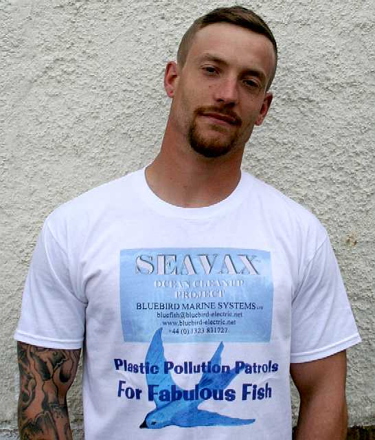 SeaVax team member and supporter