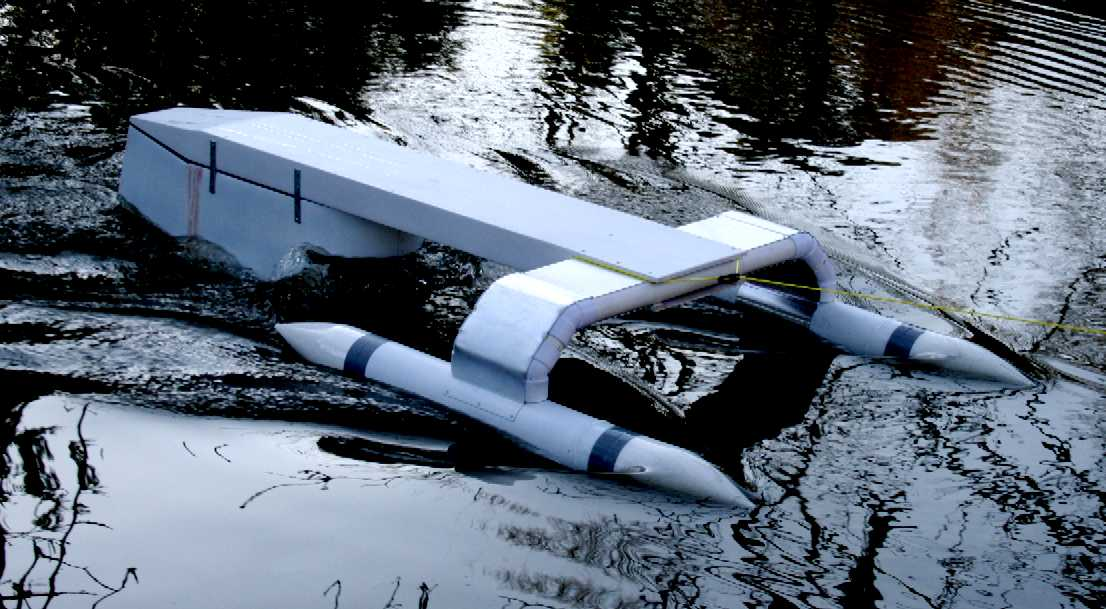 A Nonprofit Is Trying To Crowdfund Floating Trash Cleaning Robot That Anyone Can Remotely Control Over The Inter Urban Rivers Already