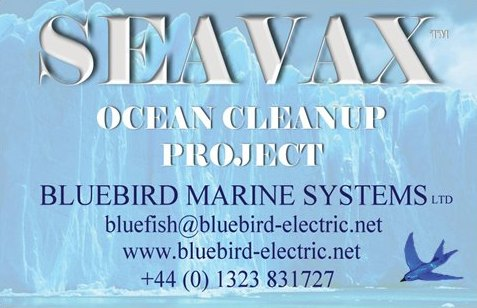 Seavax project business card