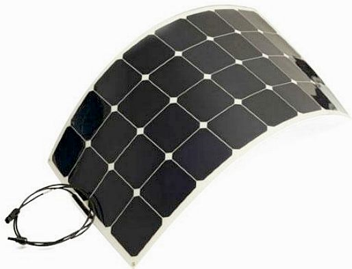 Flexible high efficiency solar panels from China
