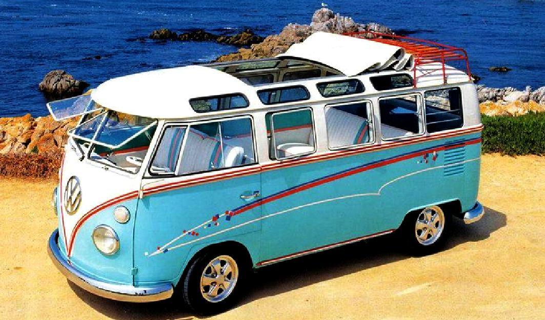 Split Screen Camper Van Decal Set
