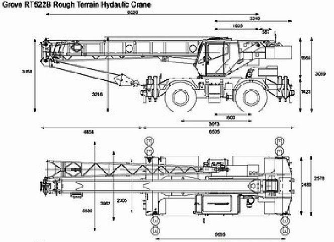 Parts Of A Rough Terrain Crane : Cranes lifting equipment portable plant hydraulics hoists