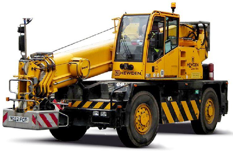 Rough Terrain Crane Wikipedia : Cranes lifting equipment portable plant hydraulics hoists