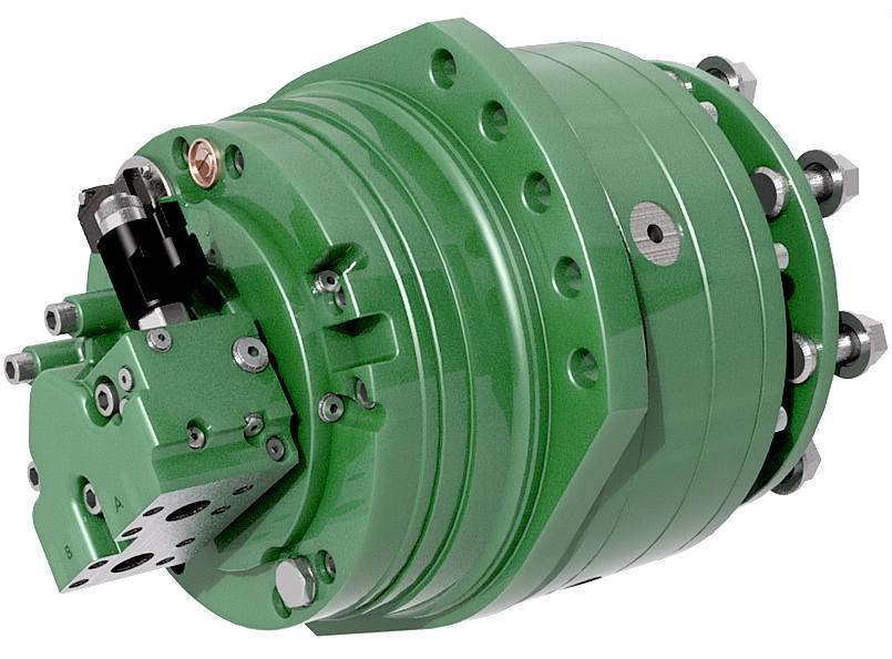 Amphimax hydraulics pumps wheel motors controls valves for Hydraulic motor control valve