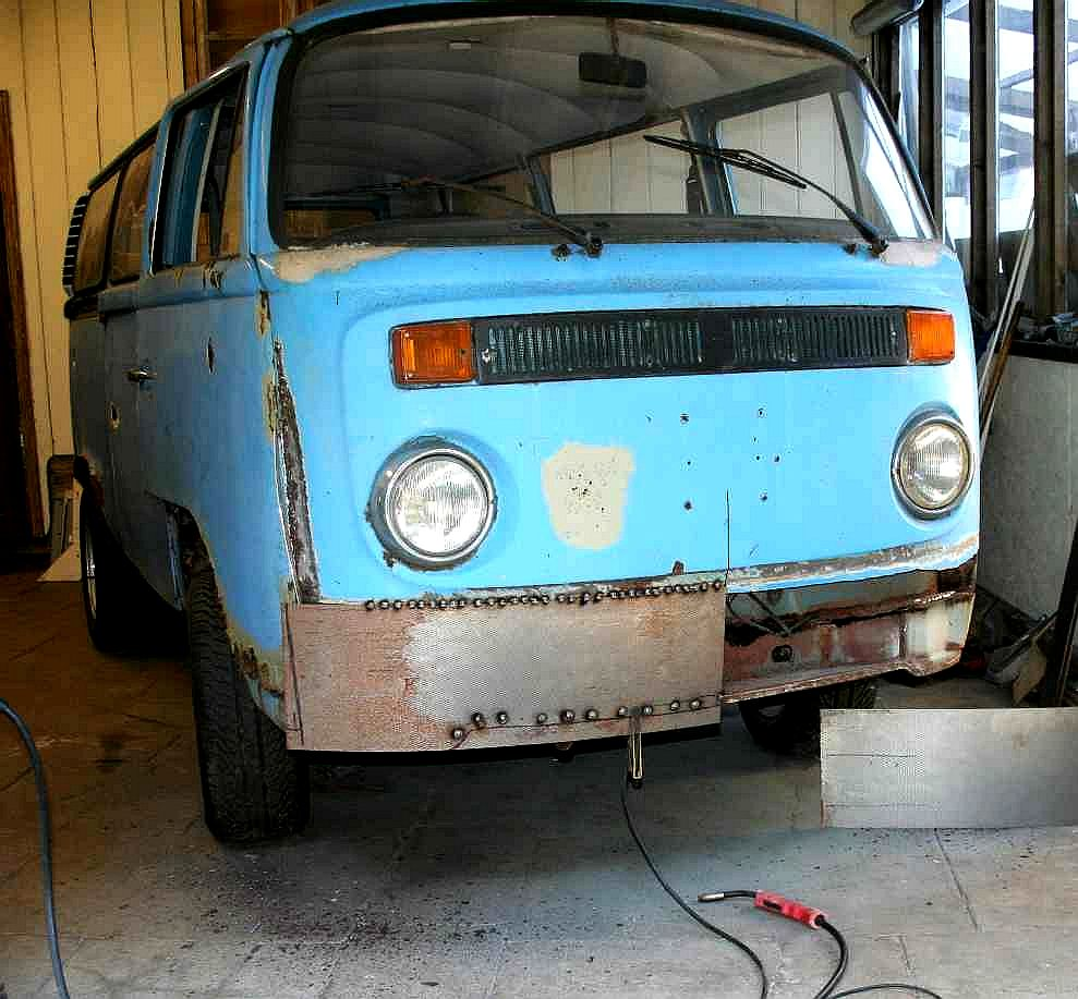 VW Bay Window Camper Van T2 Right Side lower Section Body Repair Panel New Parts