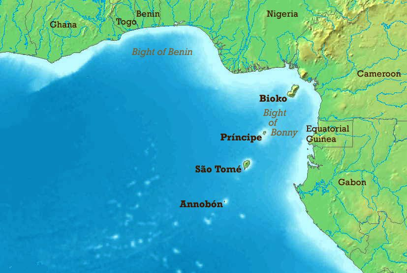The Gulf Of Guinea Ivory Gold Coast West Africa