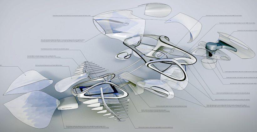 manta and sting rays animatronics marine robots fish. Black Bedroom Furniture Sets. Home Design Ideas
