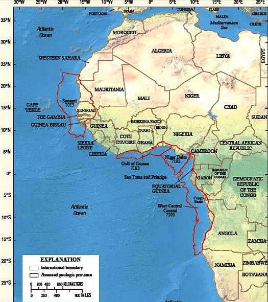 Gulf Of Guinea Africa Map THE GULF OF GUINEA IVORY GOLD COAST WEST AFRICA