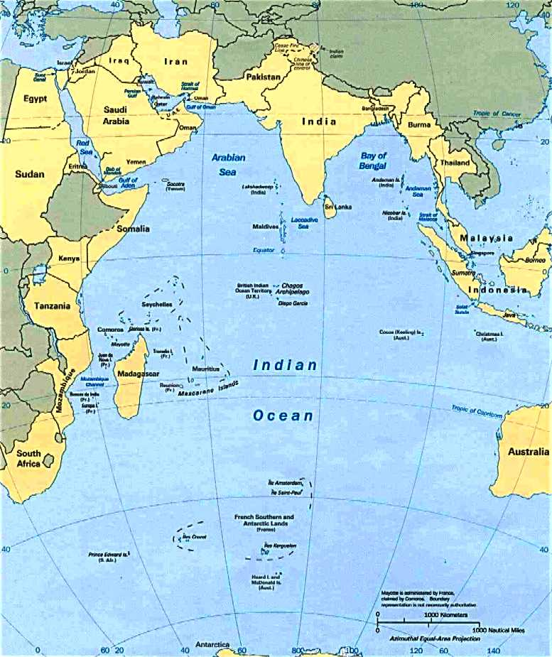 The indian ocean gumiabroncs