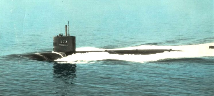 Uss Flying Fish Ssn 673 Cold War Nuclear Submarine Flyingfish