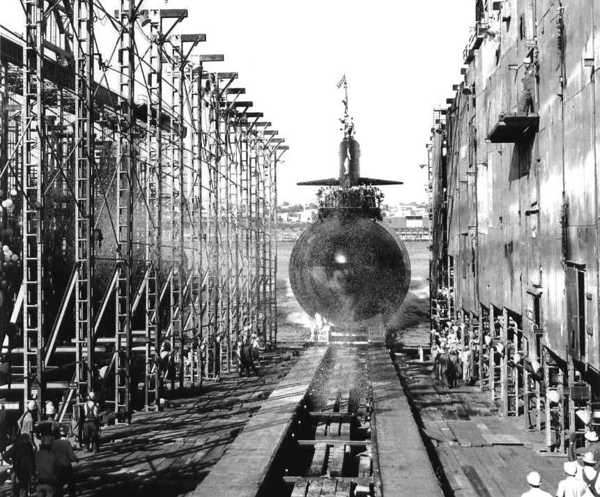 USS FLYING FISH SSN 673 COLD WAR NUCLEAR SUBMARINE FLYINGFISH