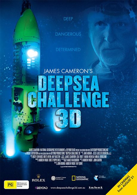 Deepsea Challanger 3d Movie James Cameron World Record