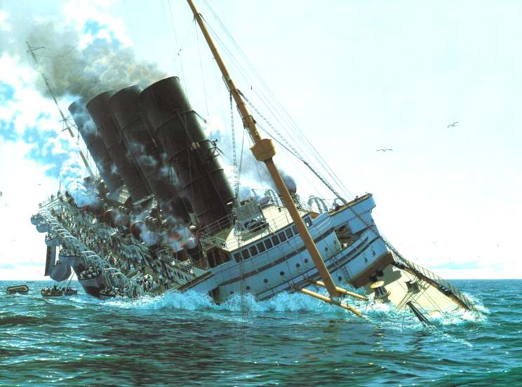 To what extent was the sinking of the Lusitania justified?