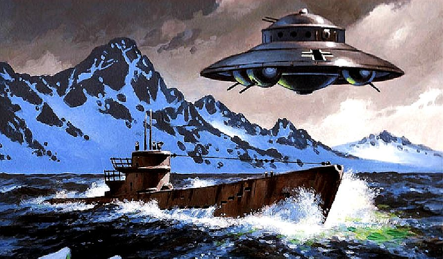 u-boat close encounter with a german flying saucer